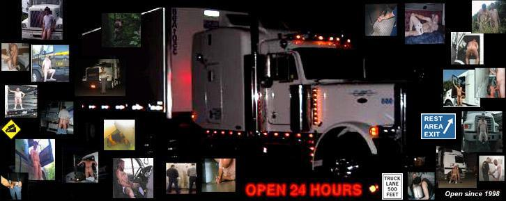 Truckers hook up for sex